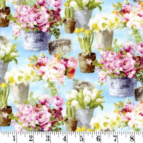 AD453 Le Cafe' - Floral