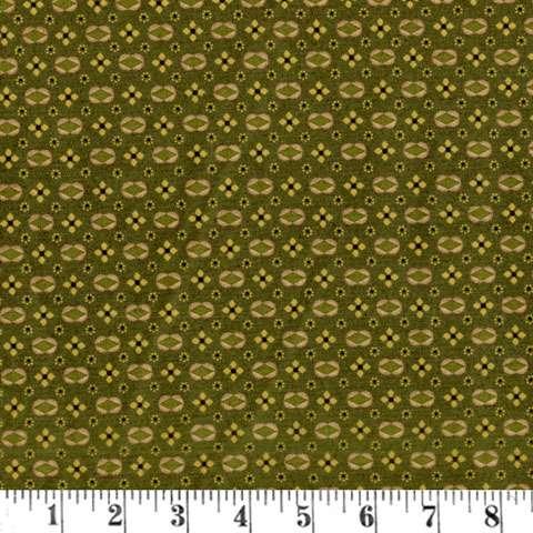 AD457 Katie's Cupboard - Green Diamonds