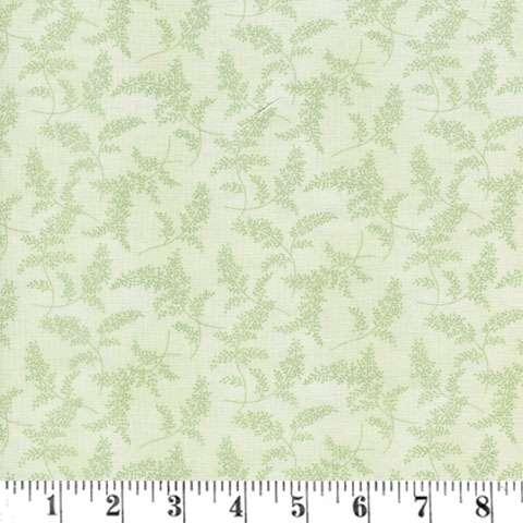 AD502 Peaceful Garden - Green Fern Toss