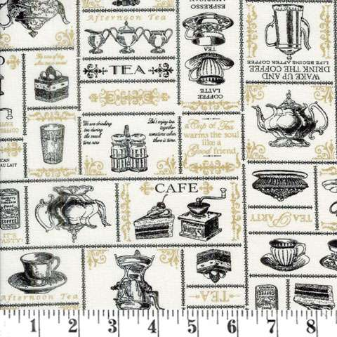 AD507 Dake - tea cup and tea pots