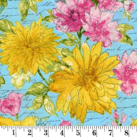 AD535 Garden Splendor - Large Floral