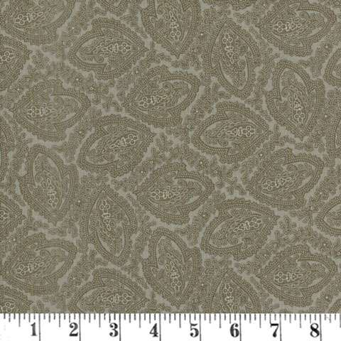 AD545 Putty & Mortar - Paisley Reproduction - Charcoal