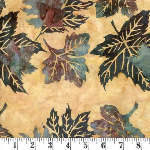 AD617 Batik Handpaint - Amber