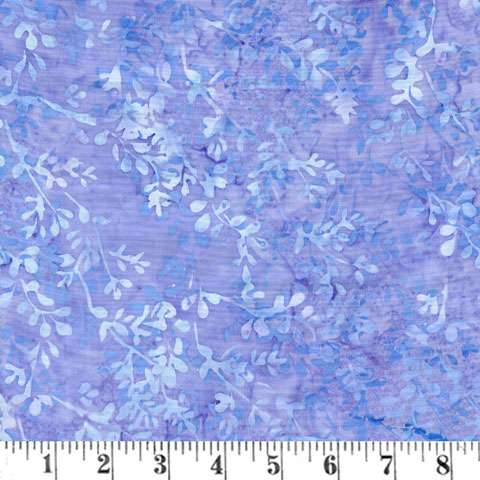AD619 Batik Handpaint - Petunia