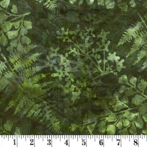 AD621 Batik Handpaint - Verde