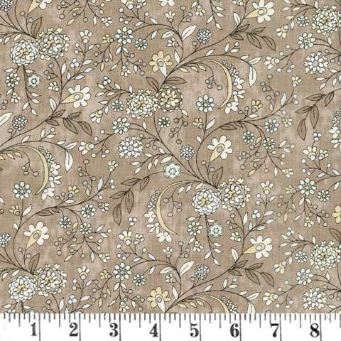 AD631 Maven - Delicate Floral - Taupe