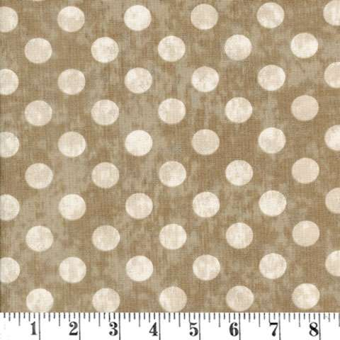 AD634 Maven - Large Dots - Taupe