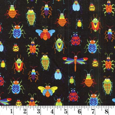 AD697 Bugs & Critters - Allover