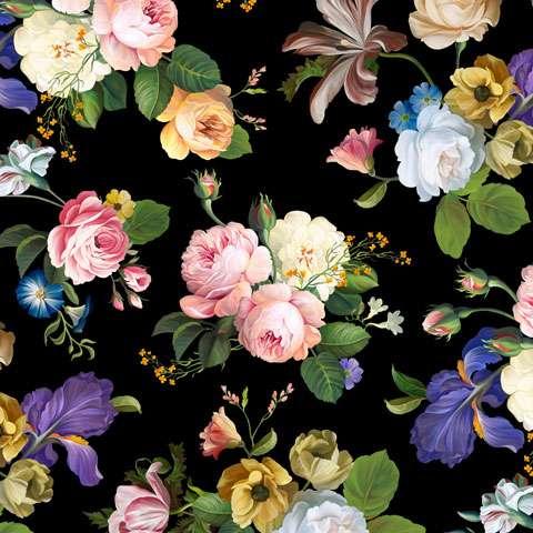 AD708 Catherine - Digitally Printed Fabric