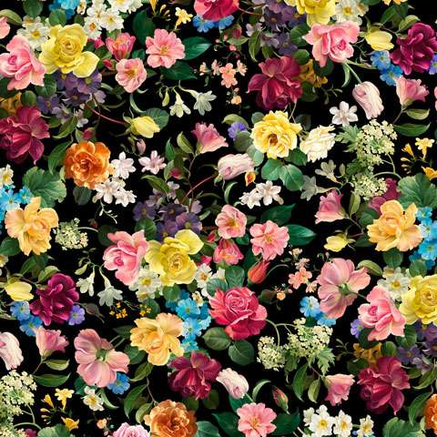 AD709 Catherine - Digitally Printed Fabric