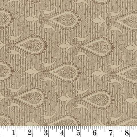AD746 Sweet Blend Prints - Paisley - Muffin