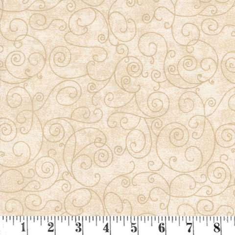 AD749 Extra Wide Backing - Willow - cream