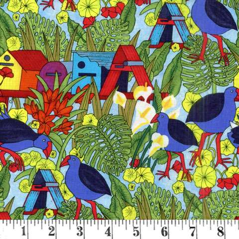 AD809 Pukeko Post (Fabric)