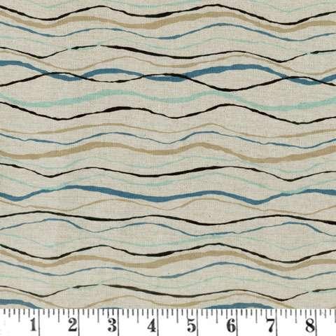 AD871 Tidal Wave - Waves (Linen)