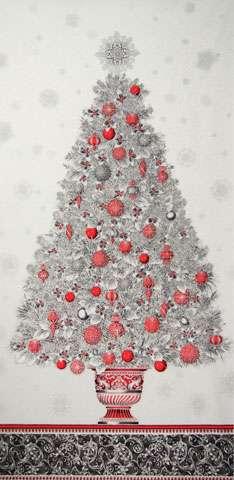 AD900 Winter's Grandeur - Christmas Tree Panel