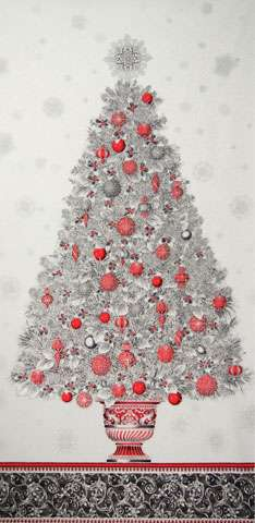 AD900 Winter's Grandeur - Christmas Tree Panel