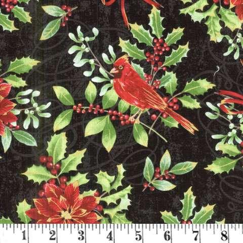 AD911 Noel - cardinal floral
