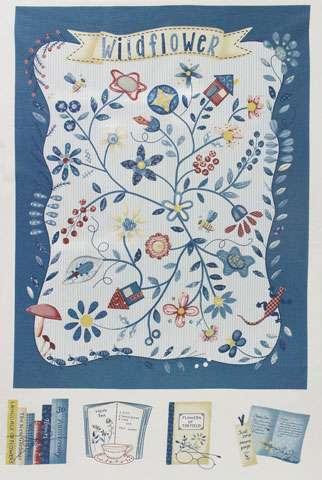 AD939 American Country Collection - Blue Panel