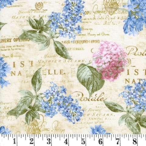 AD973 Palais Jardin - Floral Script