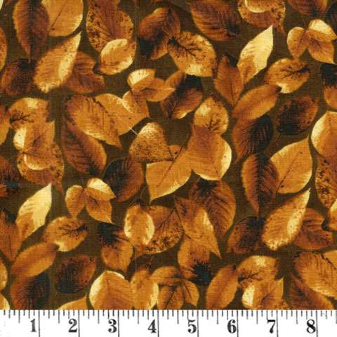 AD980 Majestic Woods - Autumn Leaves