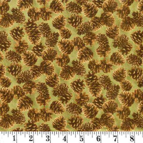 AD983 Majestic Woods - Pinecones preview