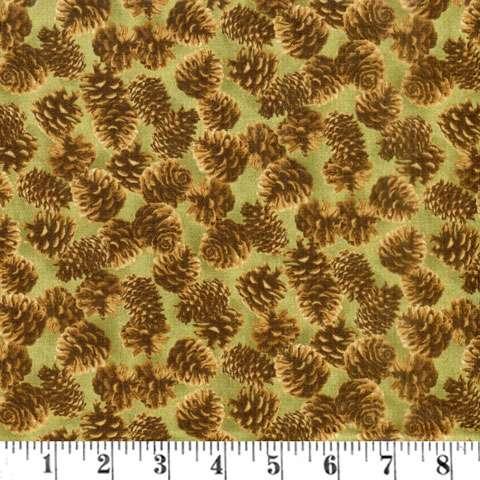 AD983 Majestic Woods - Pinecones