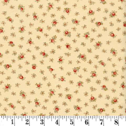 AD990 Roses & Chocolates II - Dainty Buds - Ivory