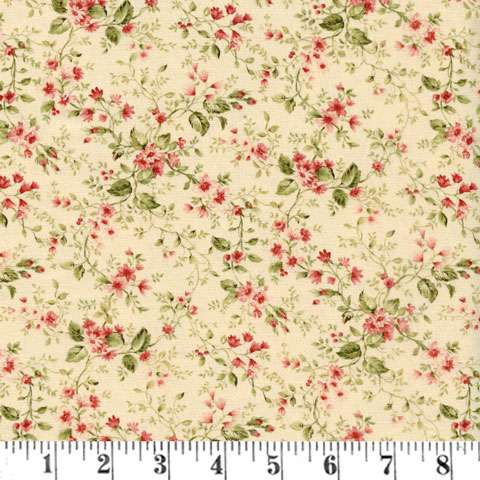 AD992 Roses & Chocolates II - Floral Sprays - Ivory