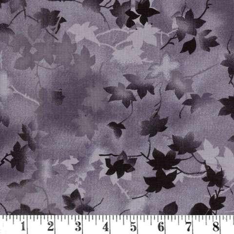 AE036 Extra Wide Backing - Ivy Vine - Dark Grey