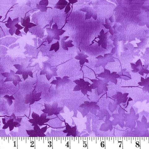 AE038 Extra Wide Backing - Ivy Vine - Purple