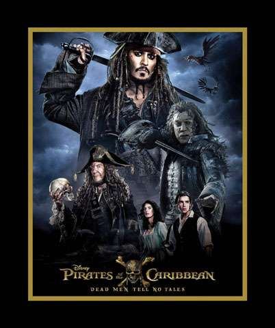AE042 Pirates of the Caribbean - Dead Men Tell No Tales - Panel