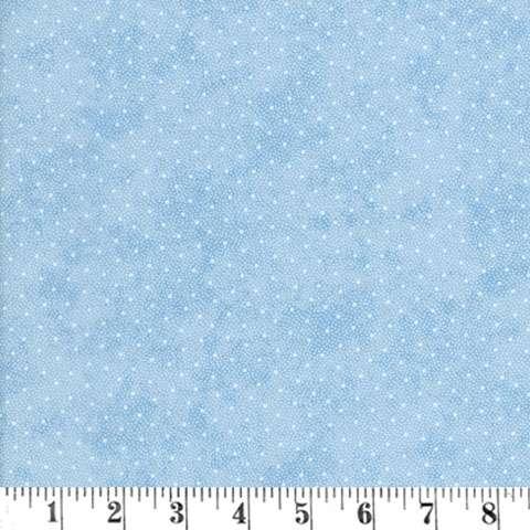 AE071 Vintage Rose - Pale Dots on Blue