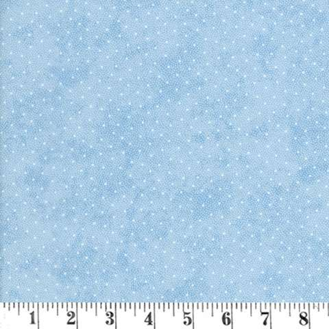 AE071 Vintage Rose - Pale Dots on Blue