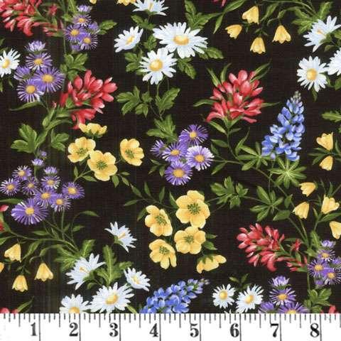 AE075 Wildflower Meadow - Flower Toss