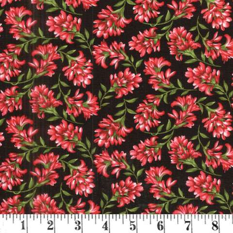 AE076 Wildflower Meadow - Red Flowers preview