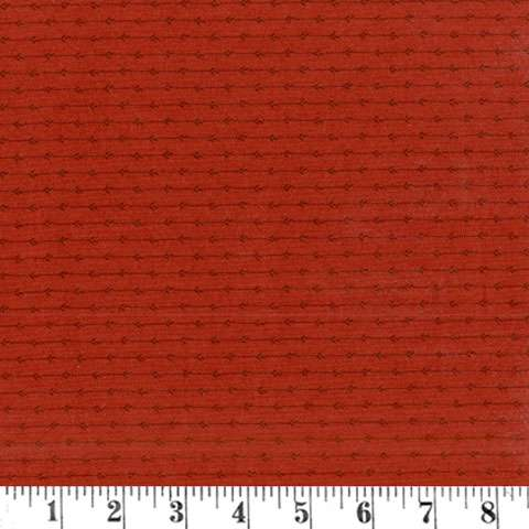 AE099 Timeless - Shirting Stripe - Rust