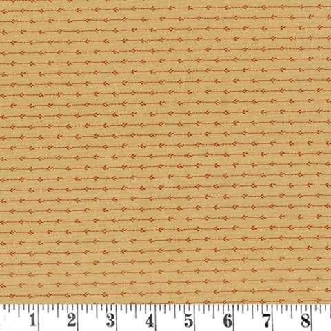 AE111 Timeless - Shirting Stripe - Tan