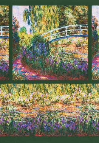AE154 Claude Monet - Digitally Printed 60cm Panel