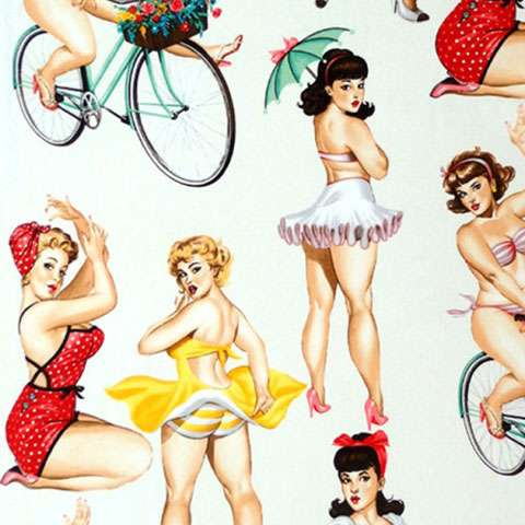 AE170 Nicole's Prints - Pin Up Girls preview