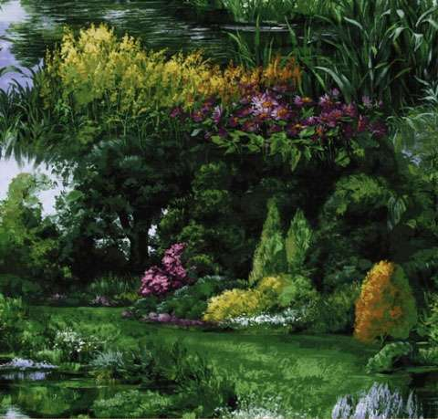 AE200 Park Landscape - Panel Repeat