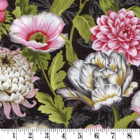 AE216 Tivoli Garden - Large Flowers