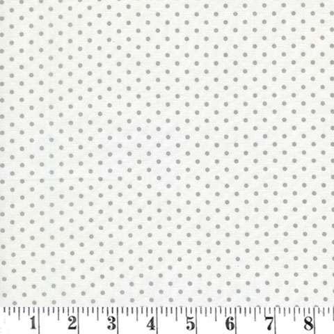 AE243 Mas D'Ousvan - Dots - Ivory/Grey