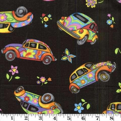 AE244 Herbie - VW's on black