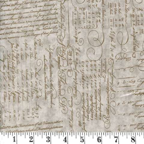 AE245 Script Ledger - Feather - Extra Wide Backing