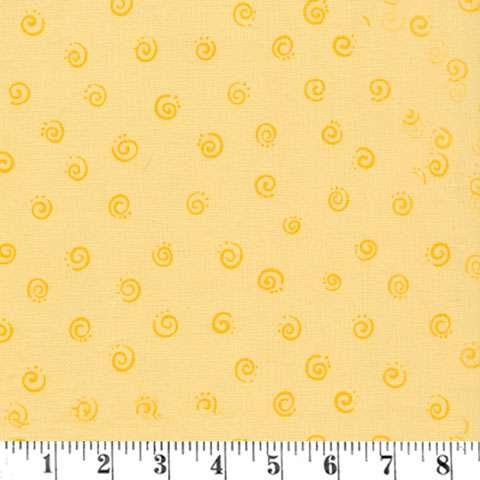 AE273 Zoe the Giraffe - Yellow Spirals