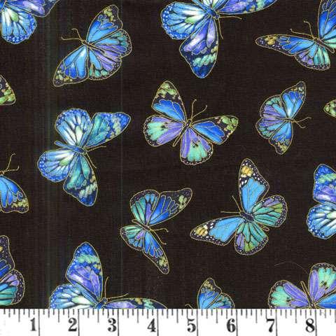 AE275 Enchant - Butteflies Metallic Overlay