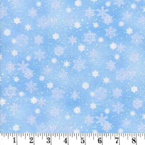 AE296 Snow Landscape - Snowflake Medley