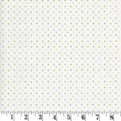 AE317 Guess How Much - Flannel Dots