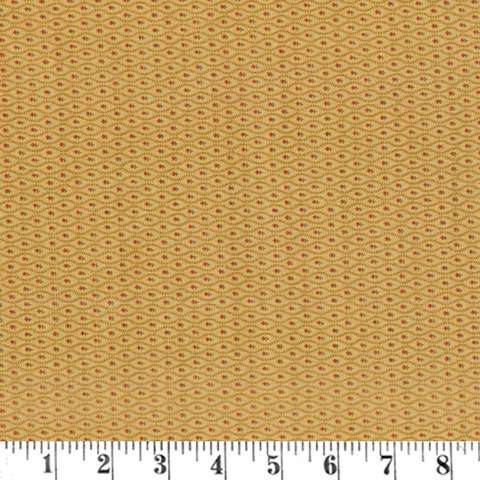 AE377 Graces Garden - Bachelor Buttons - Tan preview