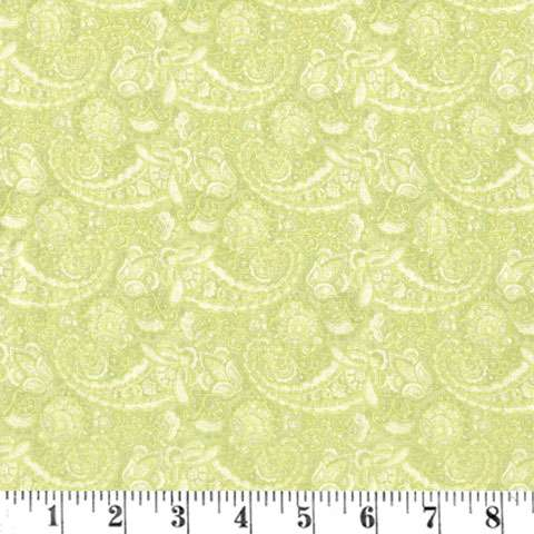 AE398 Aubrey Paisley - Dark Yellow preview